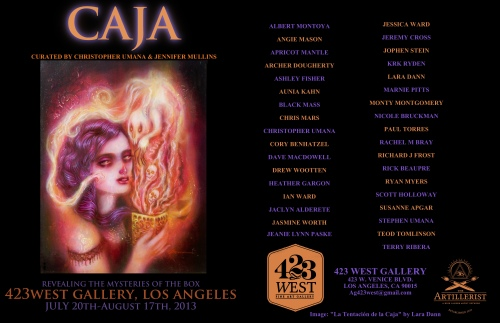 CAJA exhibition Flyer