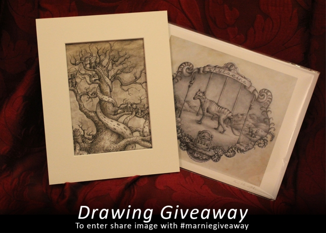 win an original drawing
